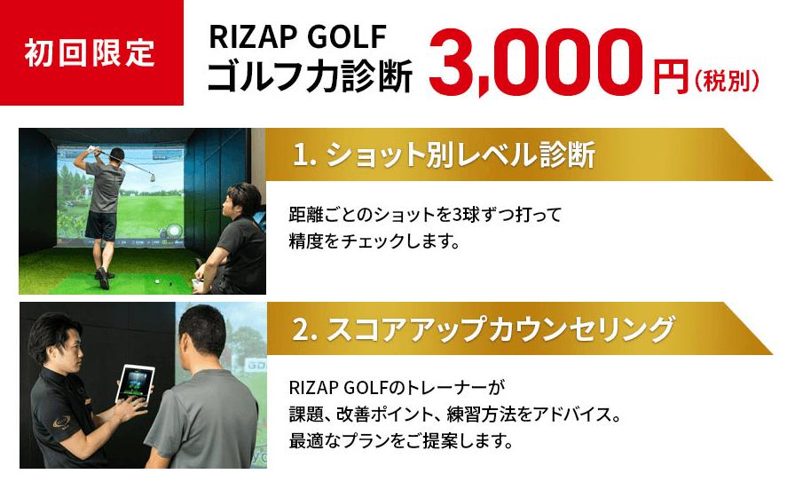 ゴルフ力診断内容