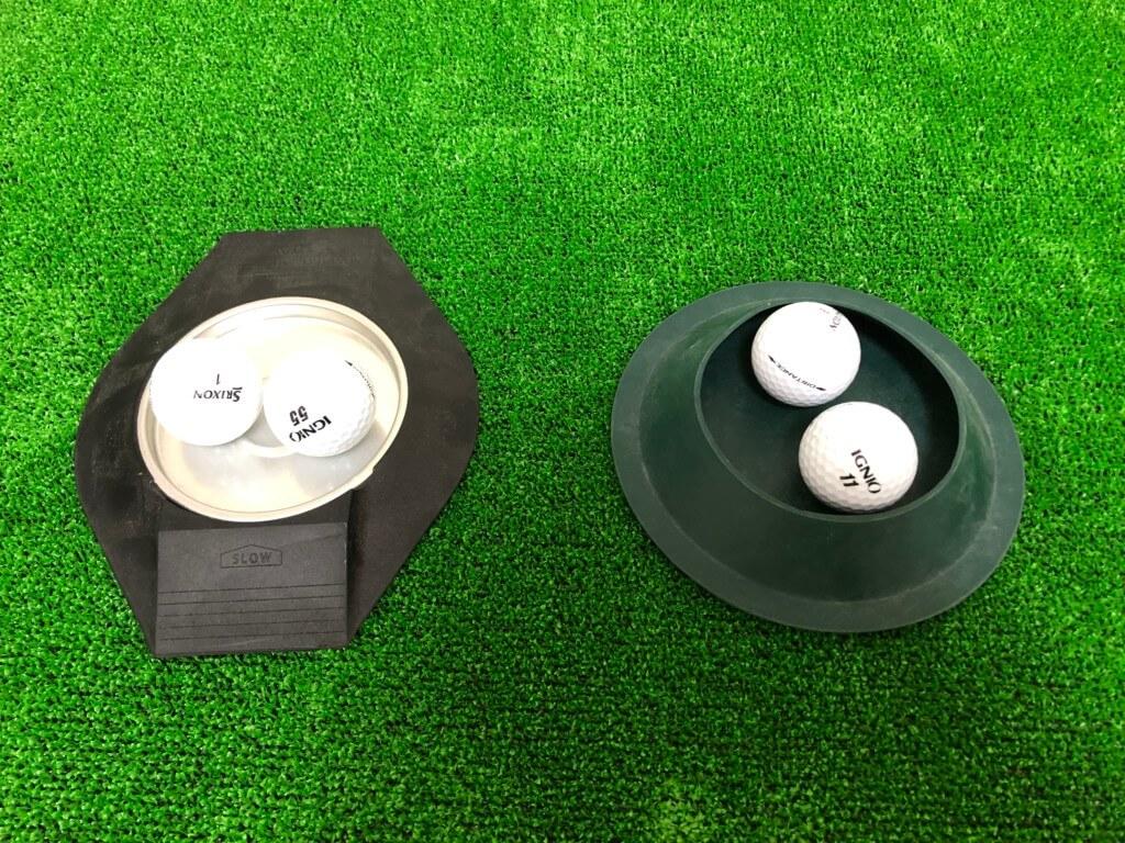 ゴルフパター練習用カップ